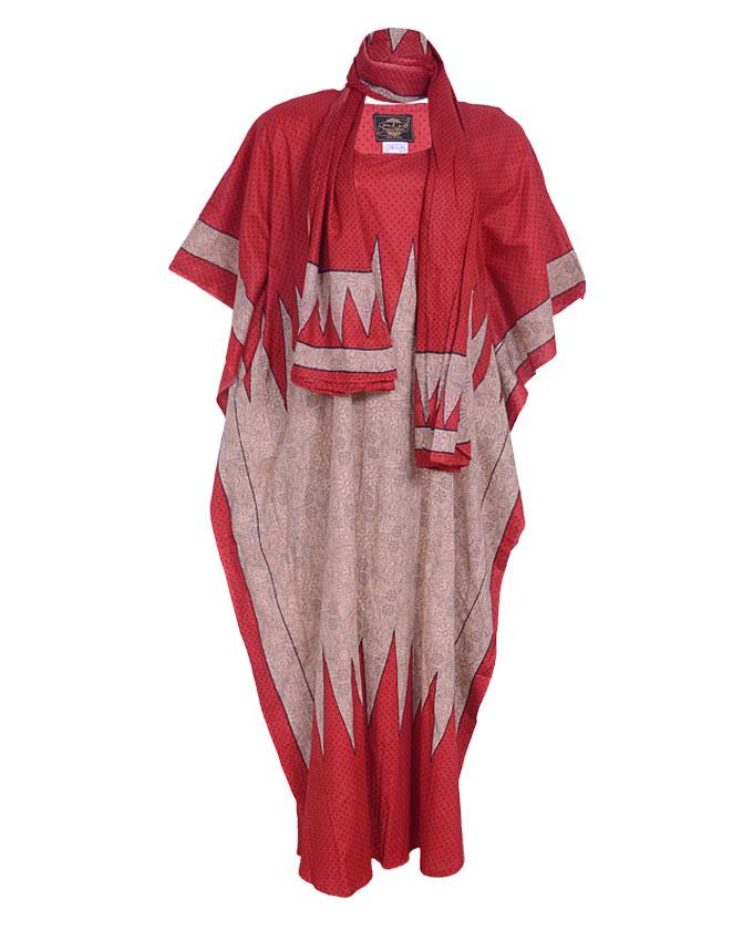 CHESHAM DRESS RED. SIZE 18 - 22   N7,500