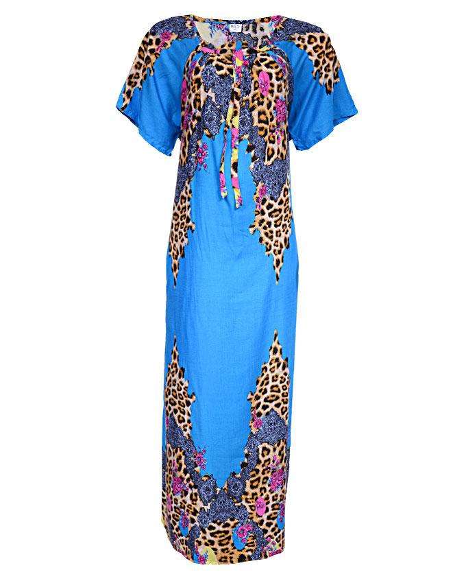 acton maxi dress - blue sizes 16 - 20   n3,500