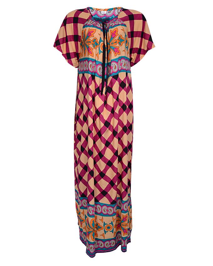 bakerloo maxi dress - purple sizes 12 - 18   n3,500