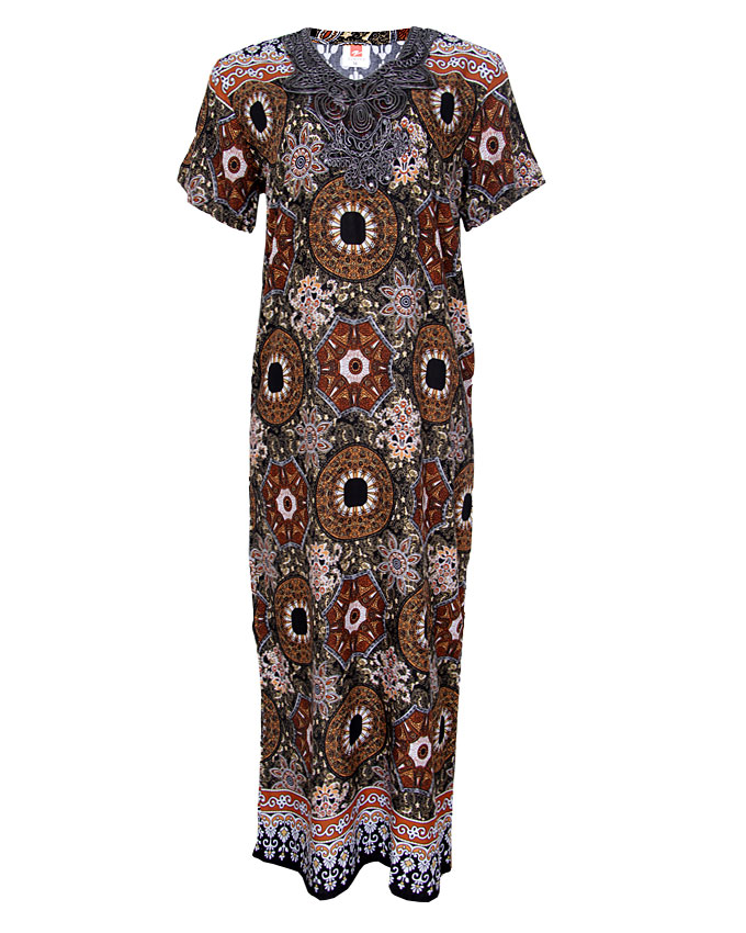 cresida maxi dress - brown sizes 16-18   n3,900