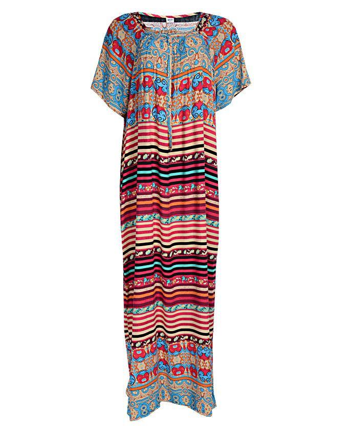 diedre maxi dress - blue sizes 16-20   n3,500
