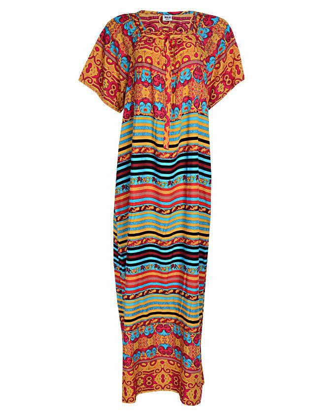 diedre maxi dress - orange sizes 16-18   n3,500