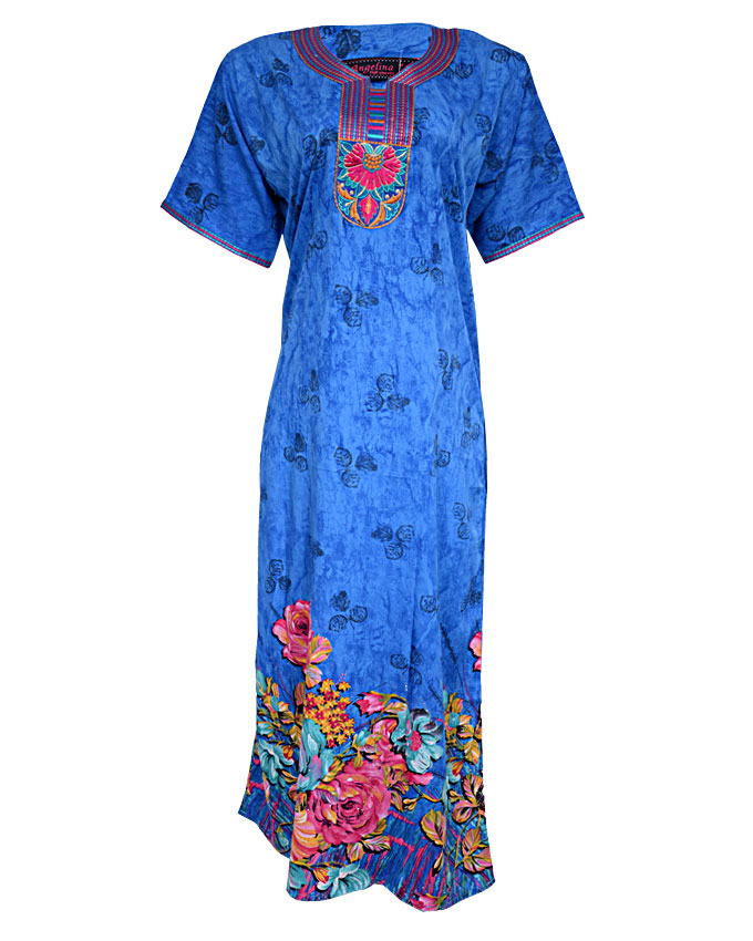 forest hill maxi dress - blue sizes 14, 16, 20   n3,900