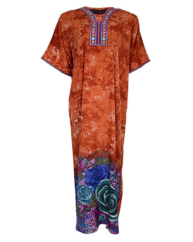 fulham maxi dress - brown sizes 18 - 22   n3,900