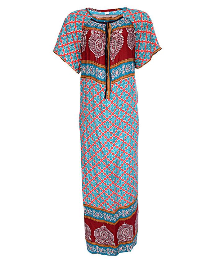 finchley maxi dress - brown sizes 16 - 22   n3,500