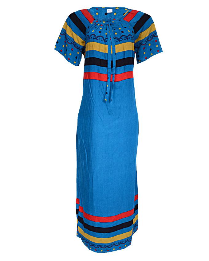 harrow maxi dress - blue sizes 18 - 20   n3,900