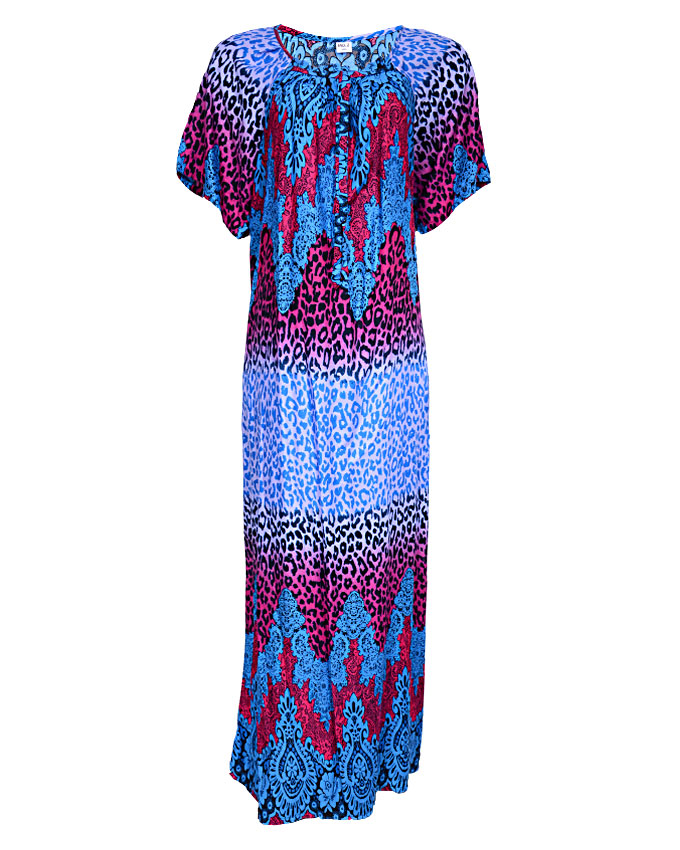 hampstead maxi dress - blue sizes 16 - 20   n3,500