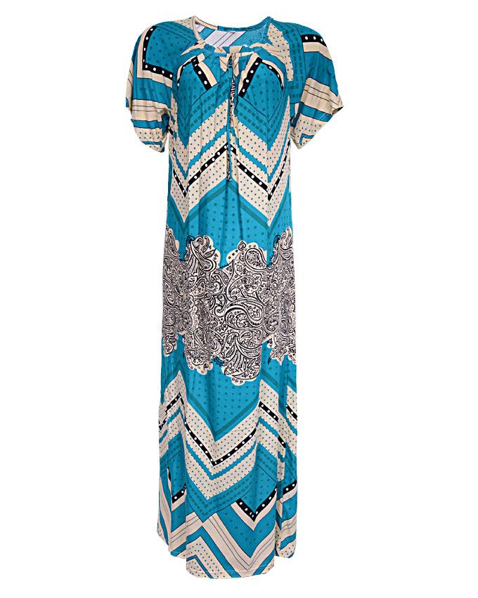 regency maxi dress with zig-zag print - greensizes 14, 16, 20   n3,500
