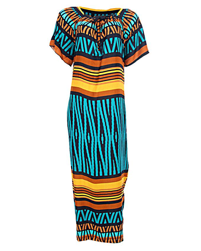 savannah maxi dress - green sizes 14 - 20   n3,500