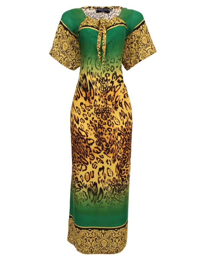 seven sisters maxi dress - green sizes 20   n3,500