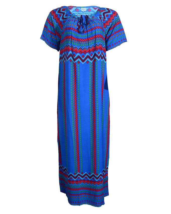 toulouse maxi dress - blue sizes 14, 18   n4,000
