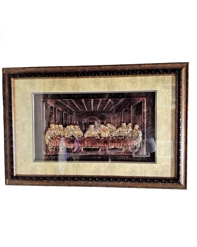 LORD'S SUPPER PAINTING ( BRONZE) - 83 X 55CM   N12,000