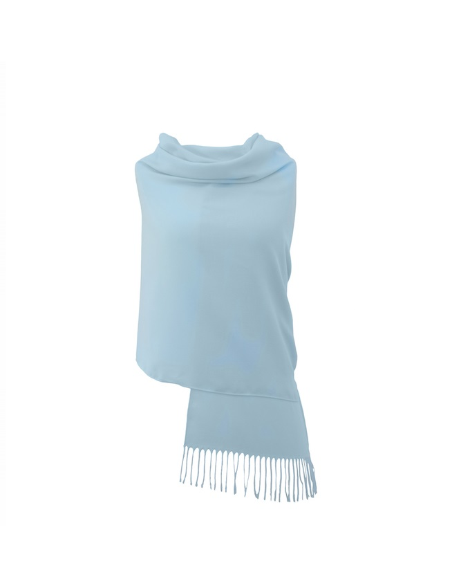 BABY BLUE PASHMINA   N4,000
