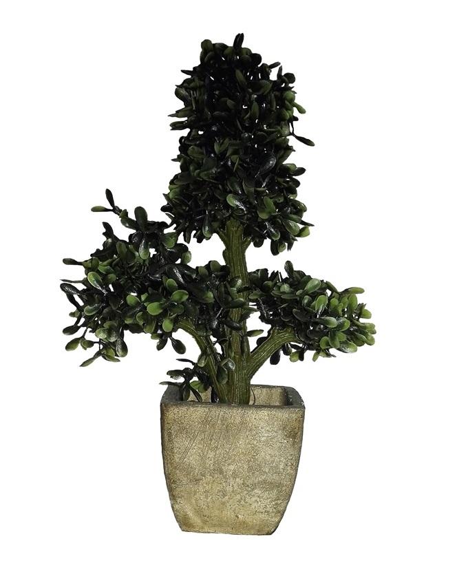 NEW    VANKA TREE IN WOODEN BASE - 29CM   N5,500