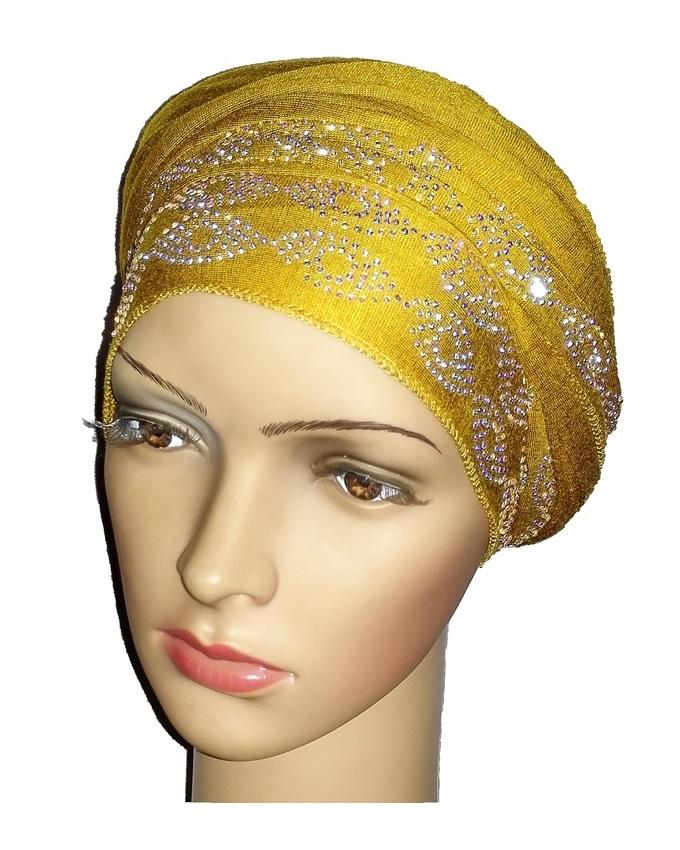 new    regal turban with ring design- mustard   n5,800