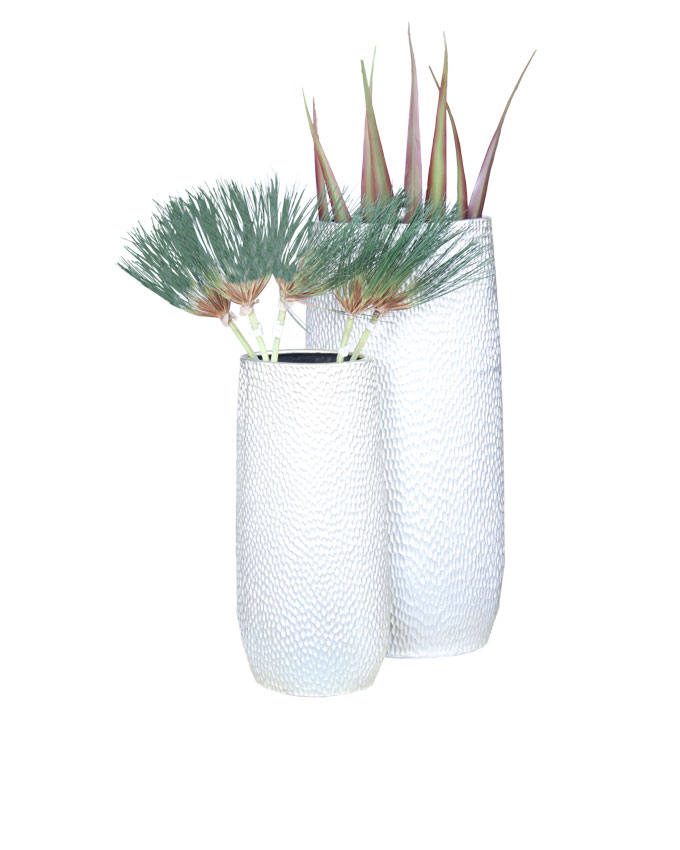 polyresin vase    small - n32,000, large - n50,000