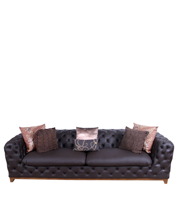 new    mesmerize 4 seater leather sofa ( cocoa)   n1,150,000.00