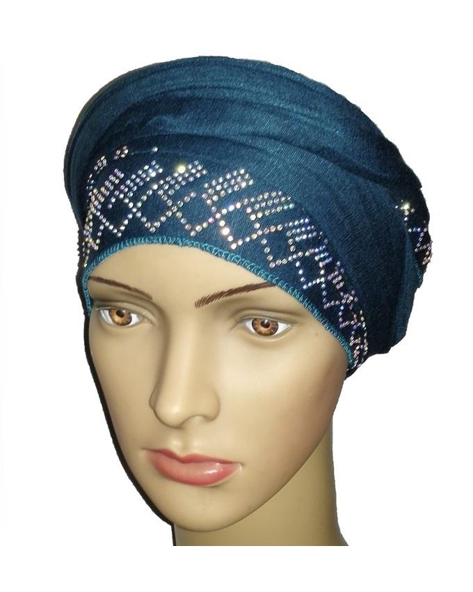 new    regal turban diamond design - dark teal   n5,800