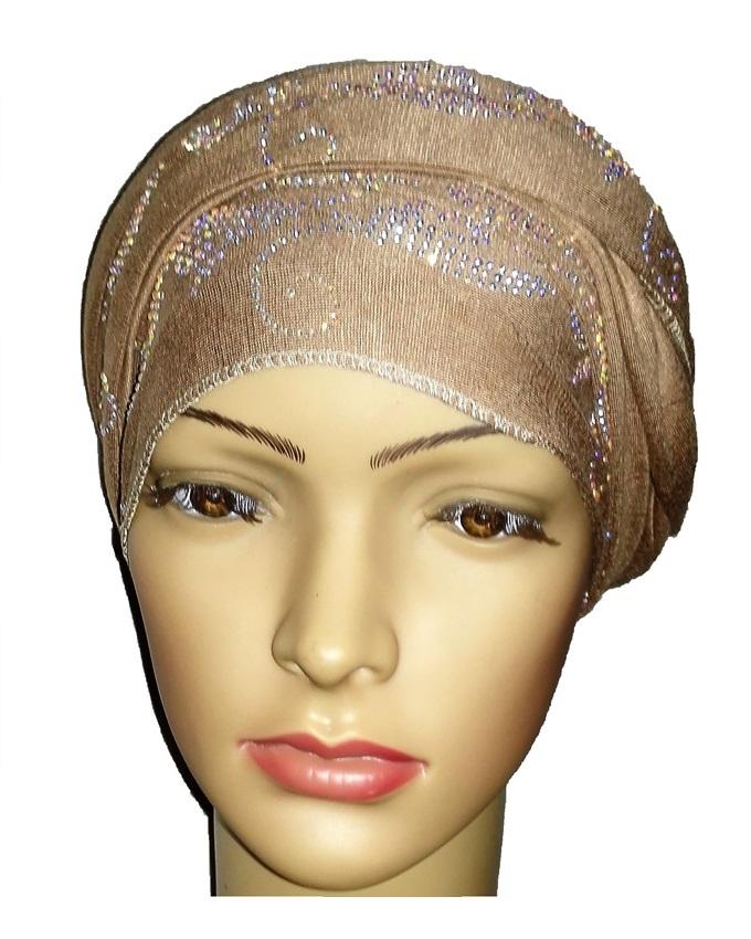 new    regal turban bajan wave design - desert brown   n5,800