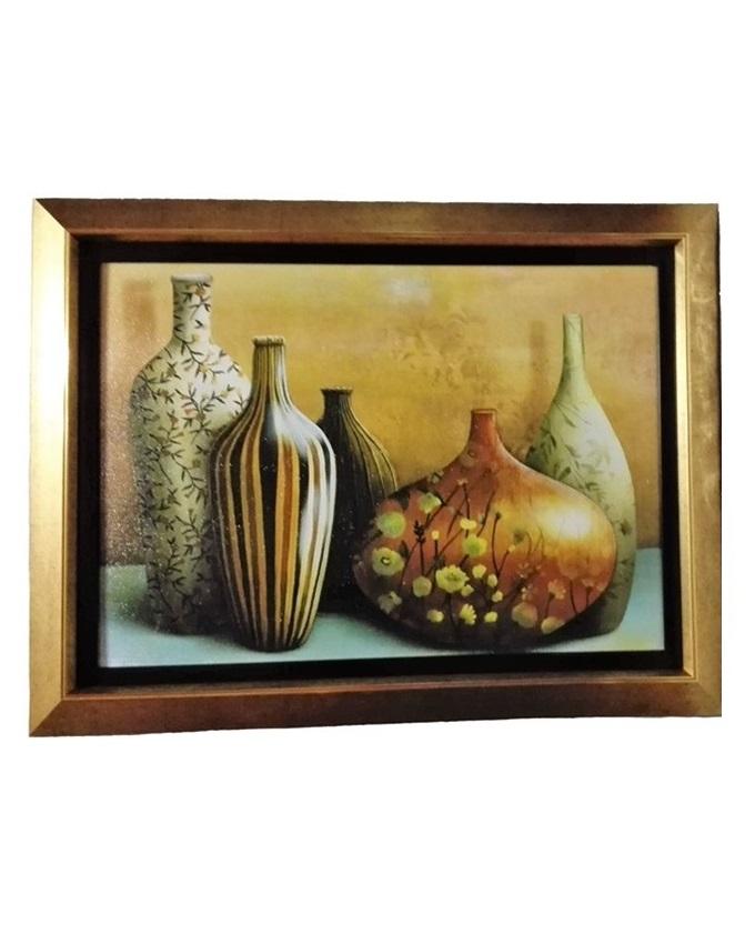 le grize c large painting gold - 86 x 65cm   n16,000