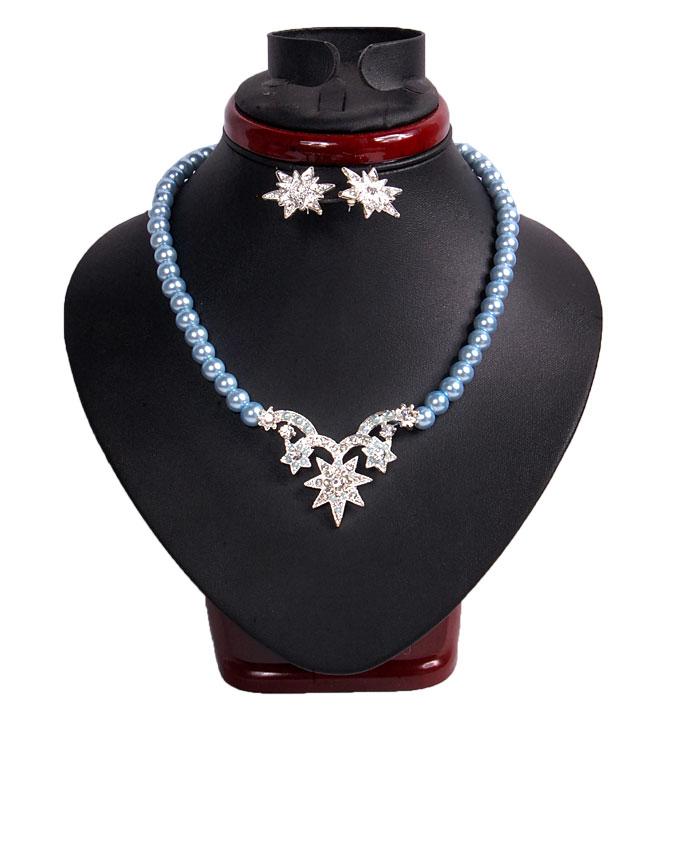 STAR SHINE JEWELRY SET - BLUE   N2,500