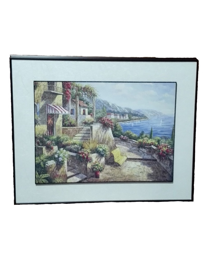 piven wood oil painting - 49 X 39CM   N8,000