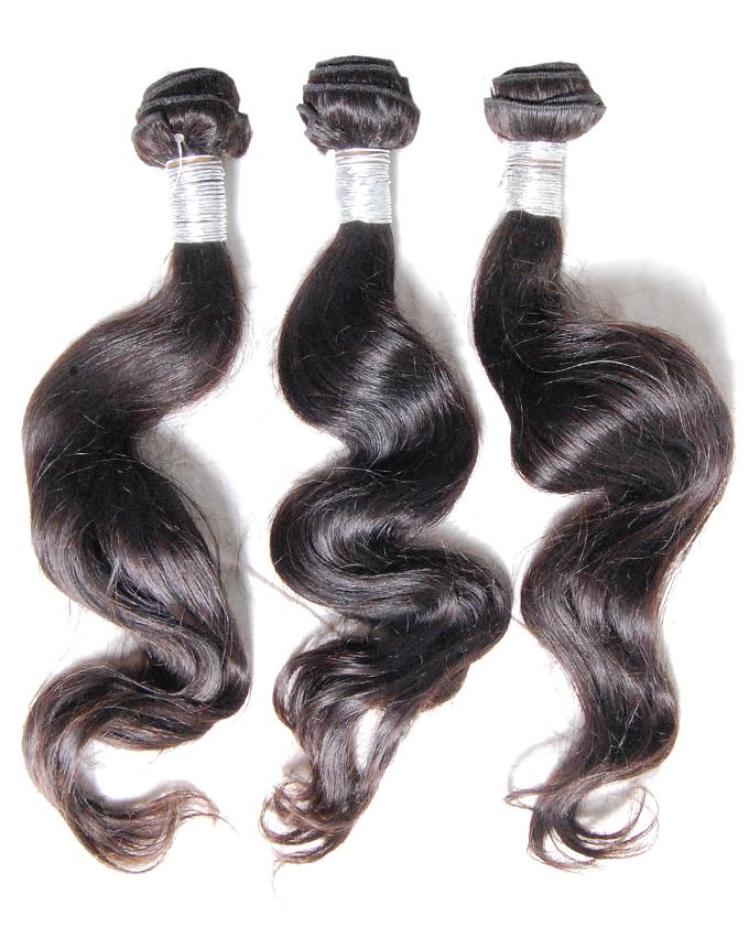 "malaysian pure virgin hair b/w   18"" #1B   -   43,000    per pack of 3 rolls. 300g. Enough for a full head"