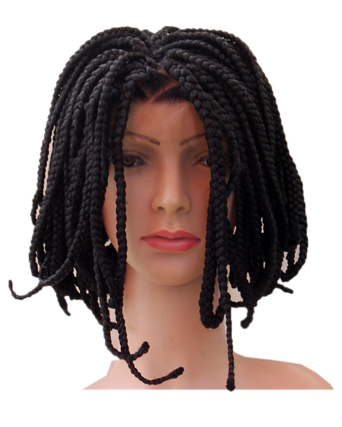 """selma lace front synthetic wig - 14"""" #1B   n16,000"""