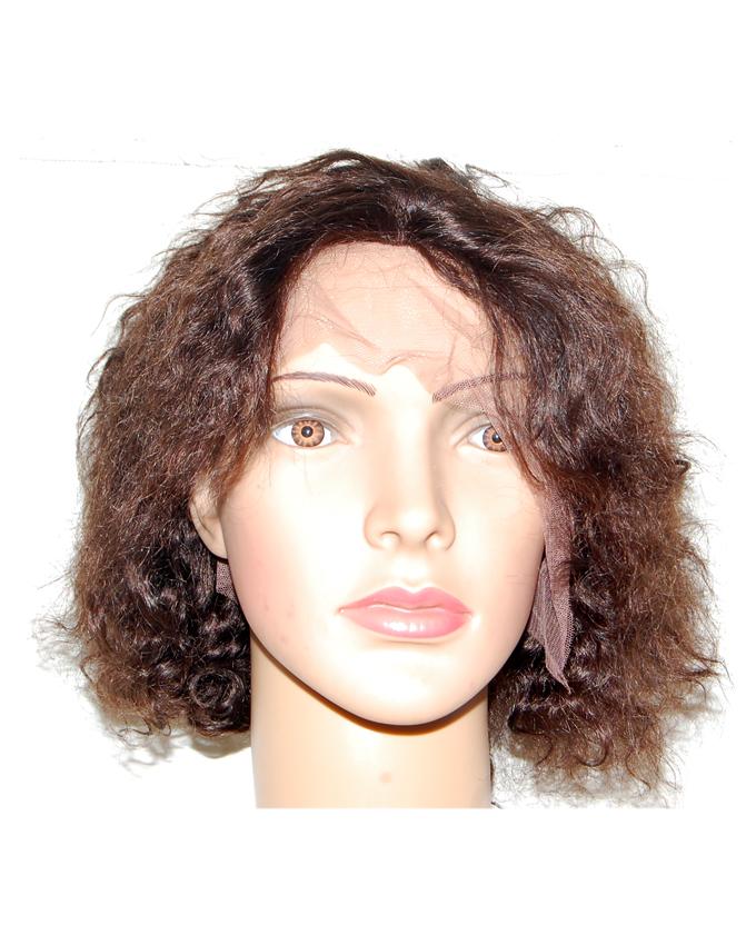 "brazilian kinky curl lace wig - #2   14"" -    30,000"