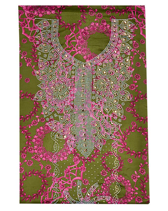"nugad studded fabric w 44"" l 108"" sleeve 18""   n15,000"