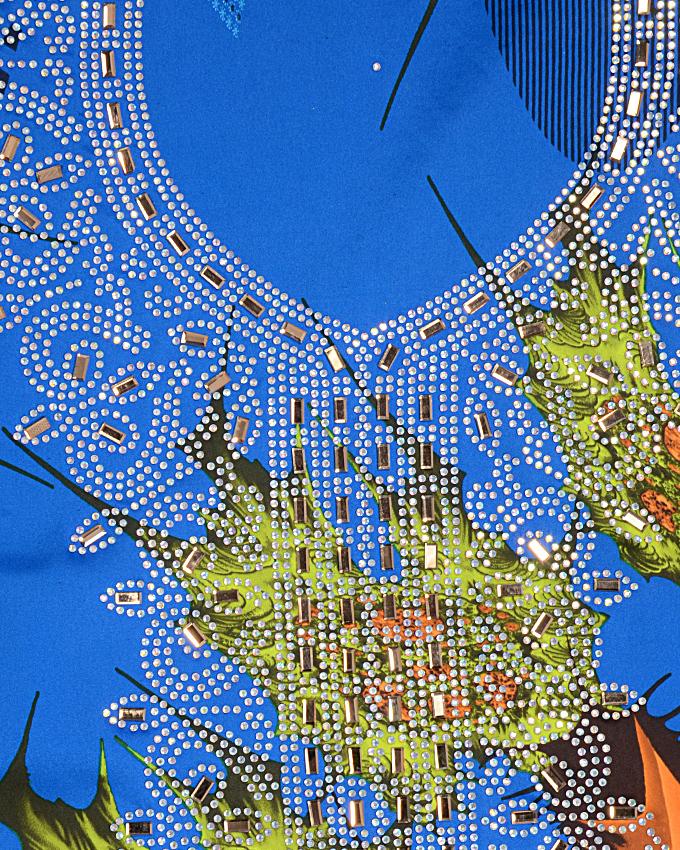 nubian studded fabric   n15,000
