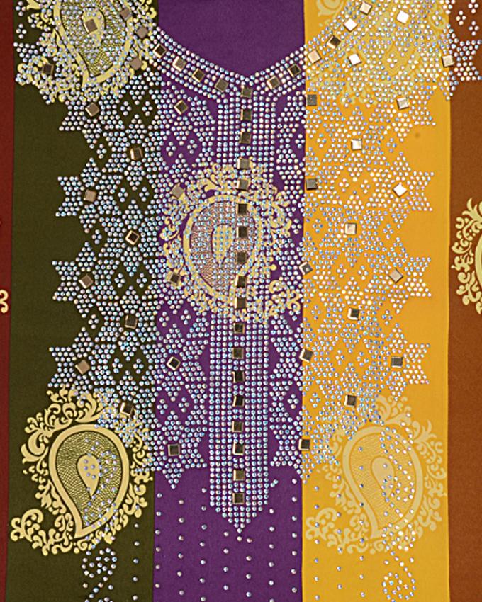 "weft studded fabric w 44""l 108""sleeve 18""   n15,000"