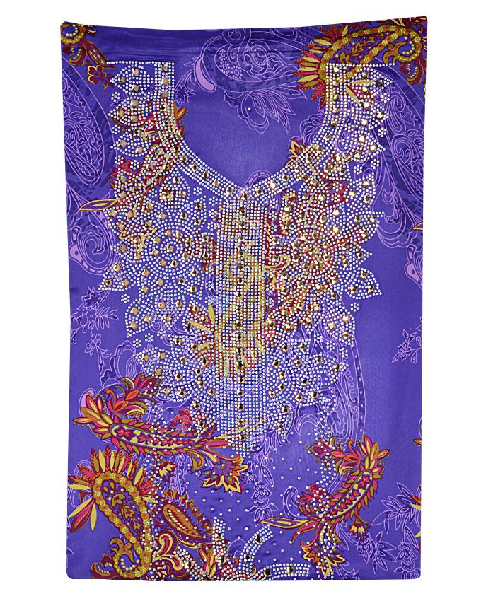 "flora studded fabric w 44"" l 108"" sleeve 18""   n15,000"