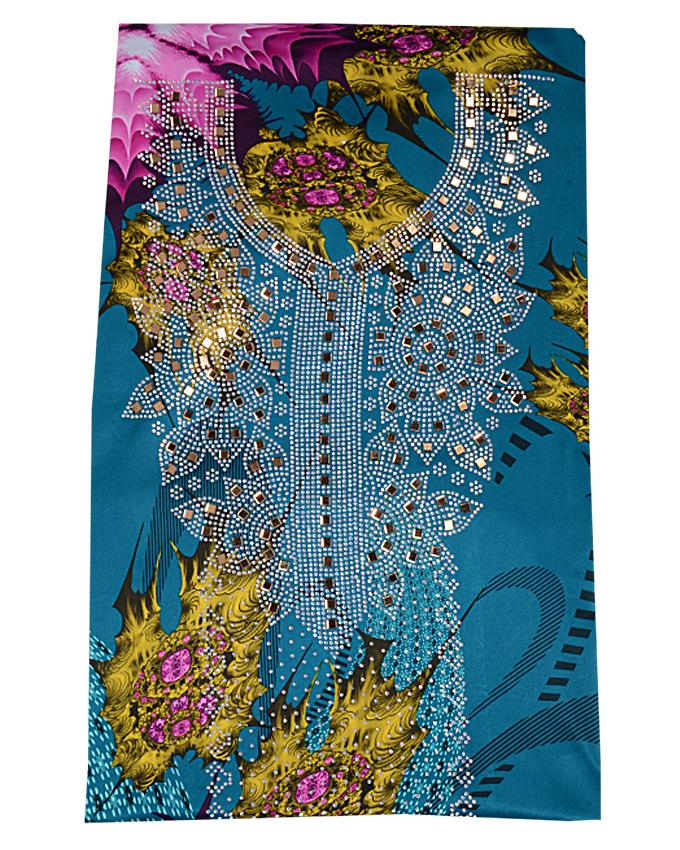 """loku studded fabric w 44"""" l 108"""" sleeve 18""""   n15,000"""