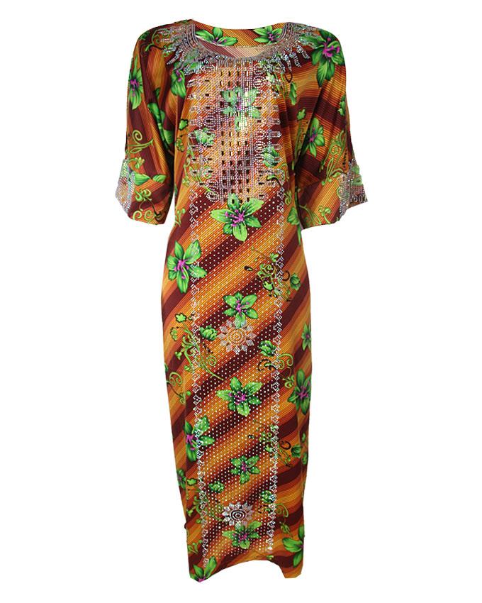 """cub studded sewn fabric ( dress) hip 53"""", l 57""""   n20,000"""