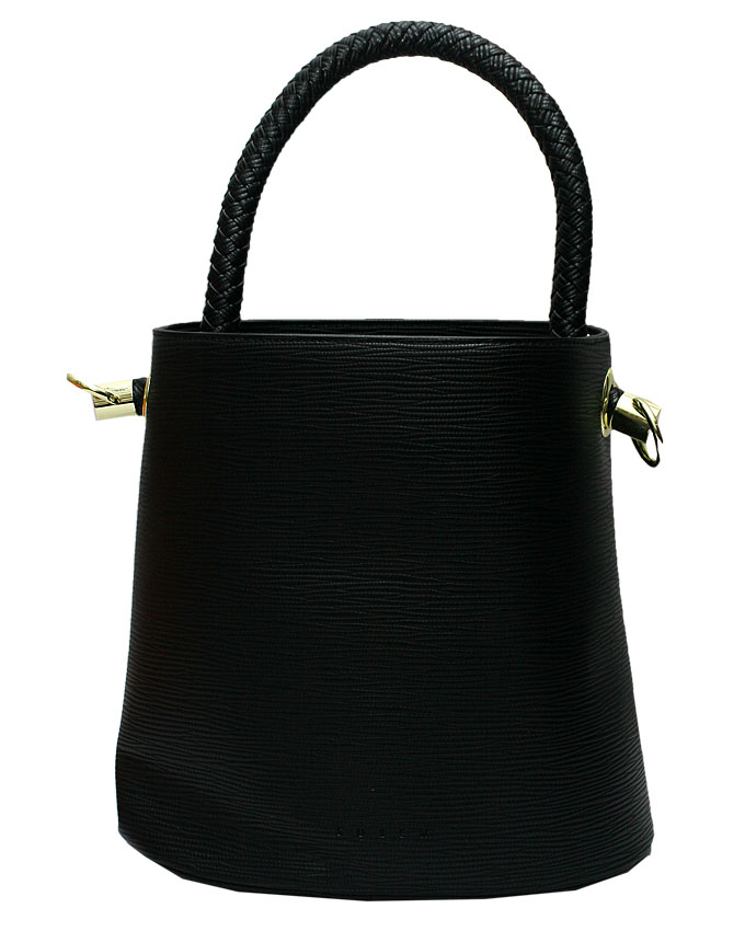 WESTCHESTER BUCKET BAG - BLACK ( FRONT)   N20,000