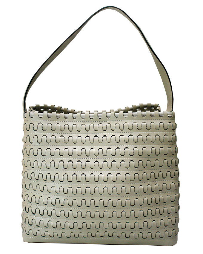 mayfair weave bag - khaki   n25,000