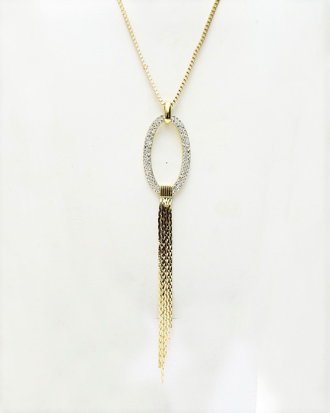 orion necklace - gold   n4,000