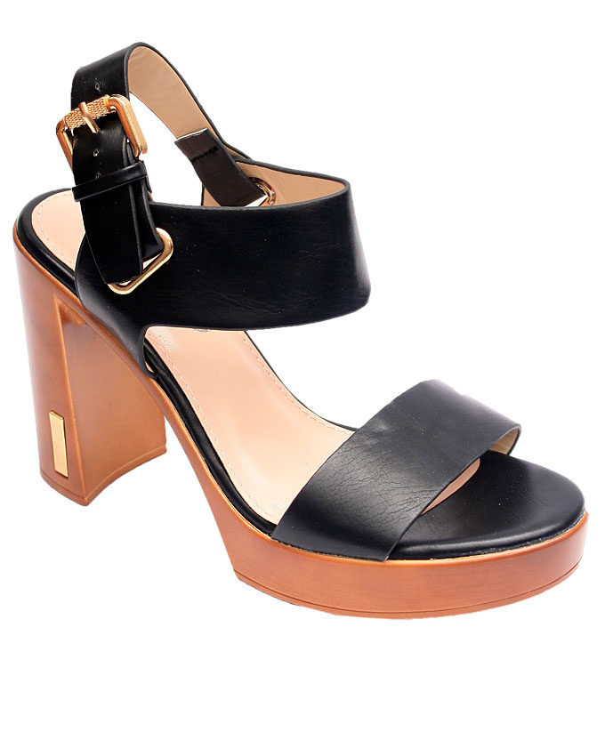 betty leather sandals - black    sizes : 36, 37, 38, 39, 40, 41  n12,000