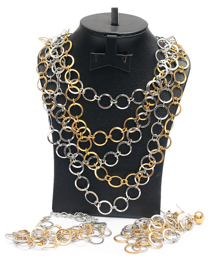 channing chain link 4 piece set   n6,500
