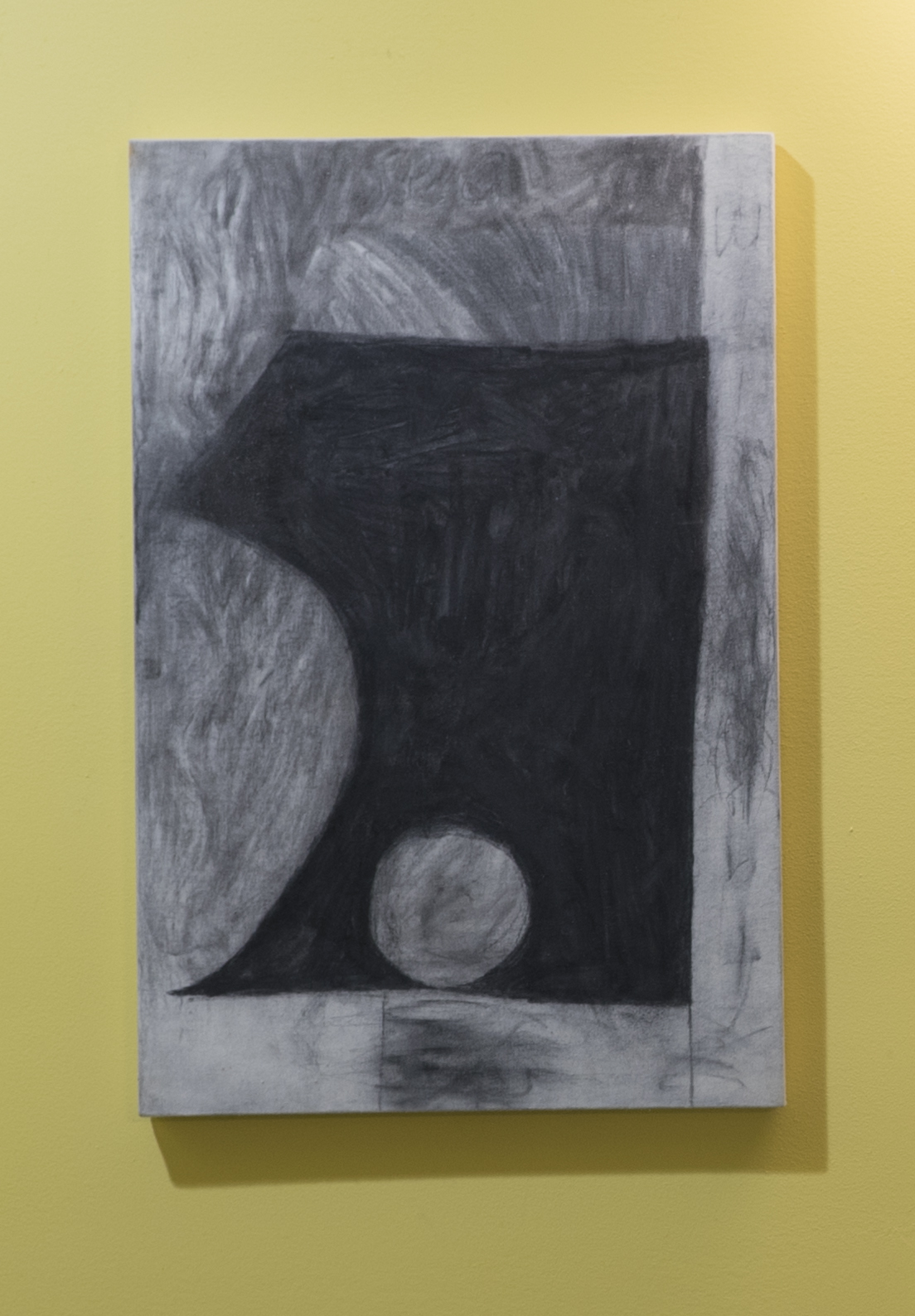 Wika (Translator)     graphite, charcoal, muslin     2015