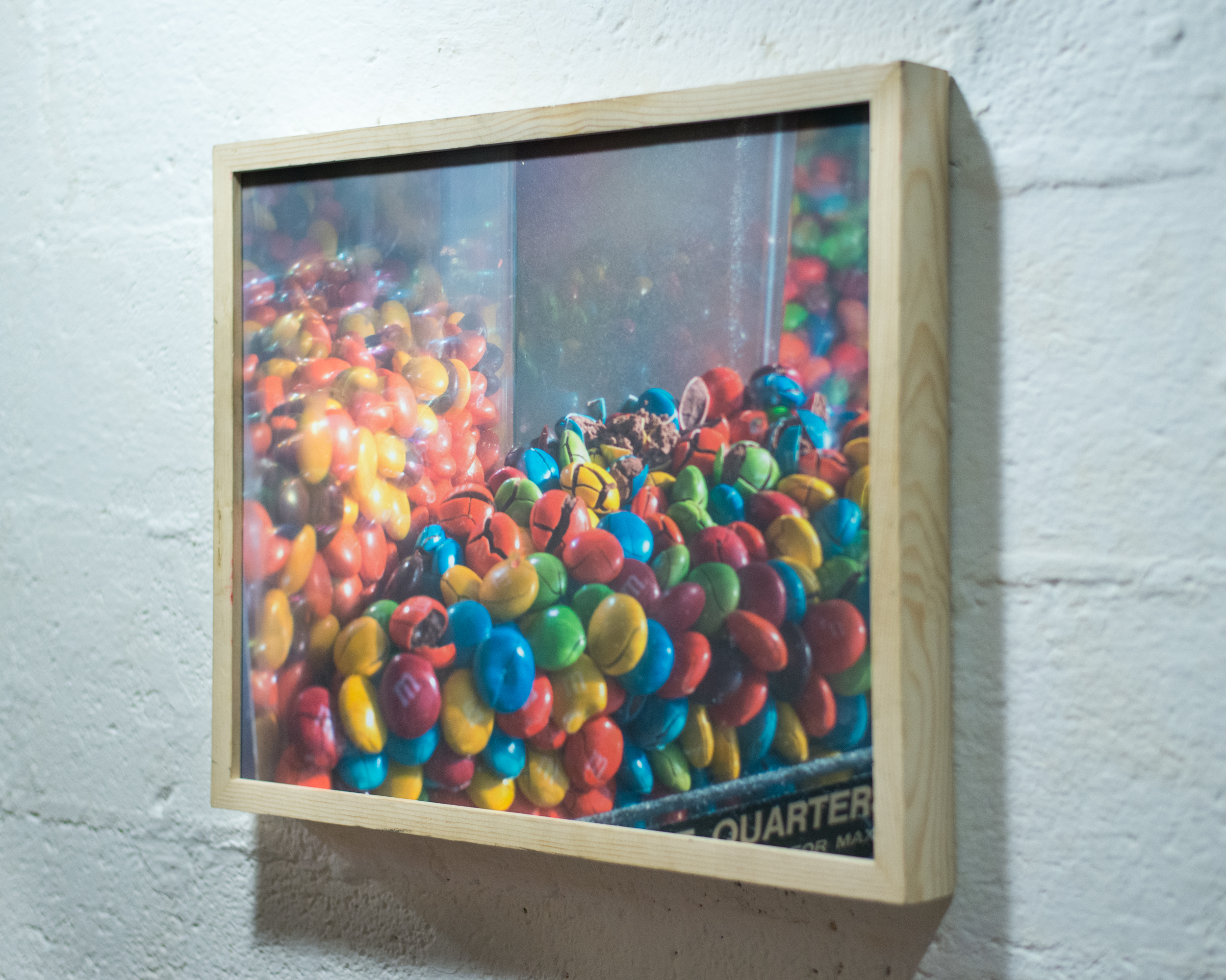 Untitled    matte pigment print in wood frame    2015
