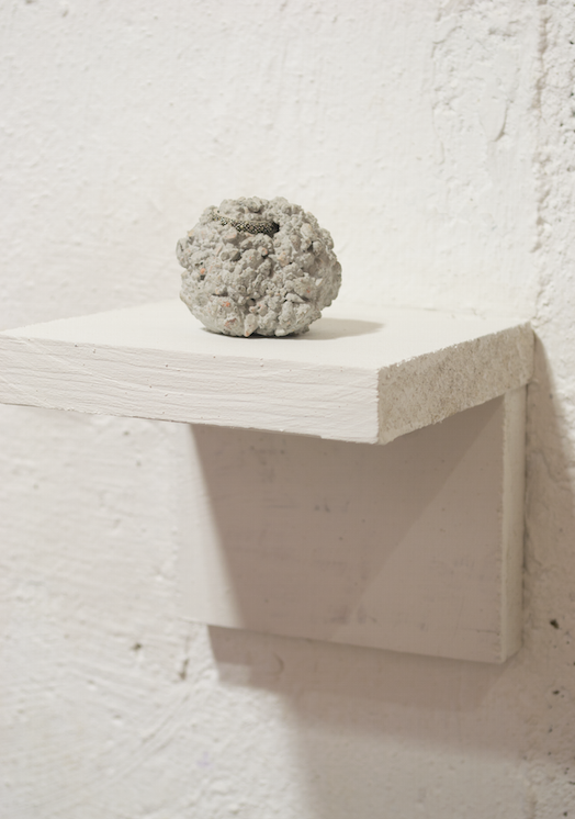 Relic 3   Mike Womack  concrete and ring  2015