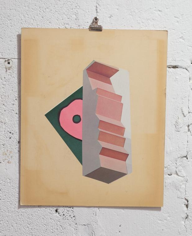 Untitled   Scott Zieher  collage  2015