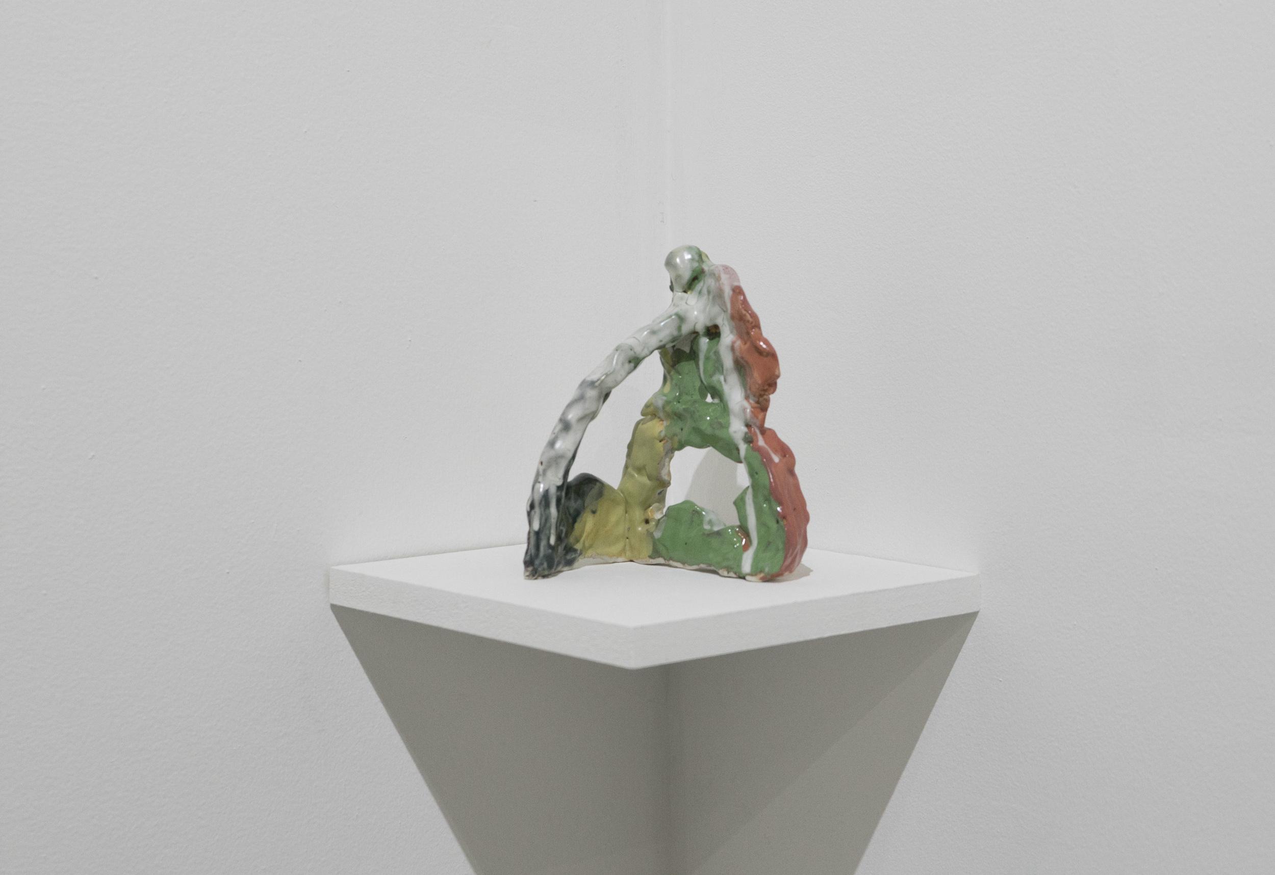 Untitled       Allison Wade     Glazed porcelain   2016
