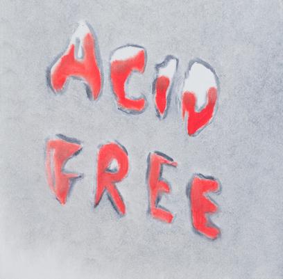 Acid Free   oil on canvas  2014