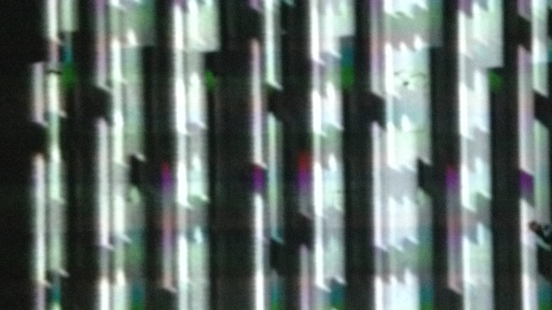 Input == Input   performance,  real time audio and video manipulation (video still)   2014