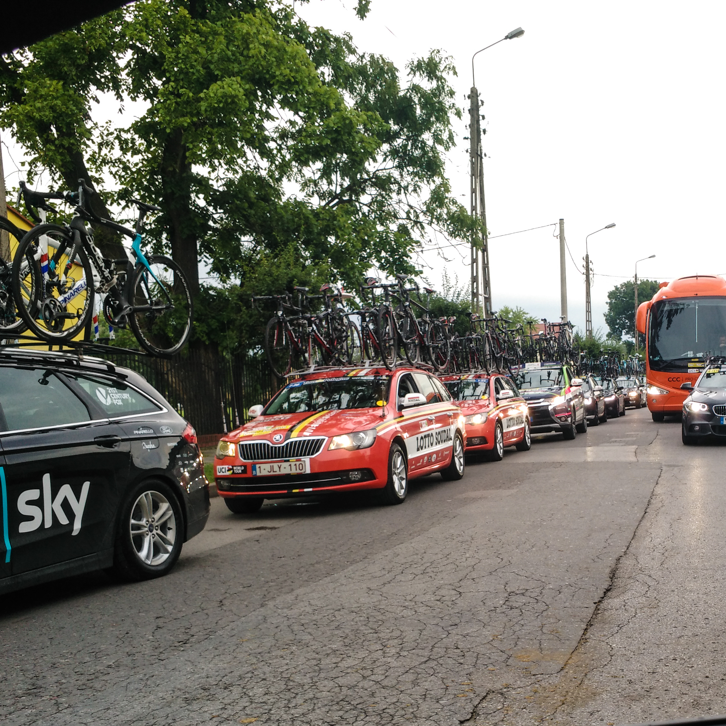 Bike racing, driving, Tour de Pologne, music, playlist, health, fitness, pro cycling, cycling,