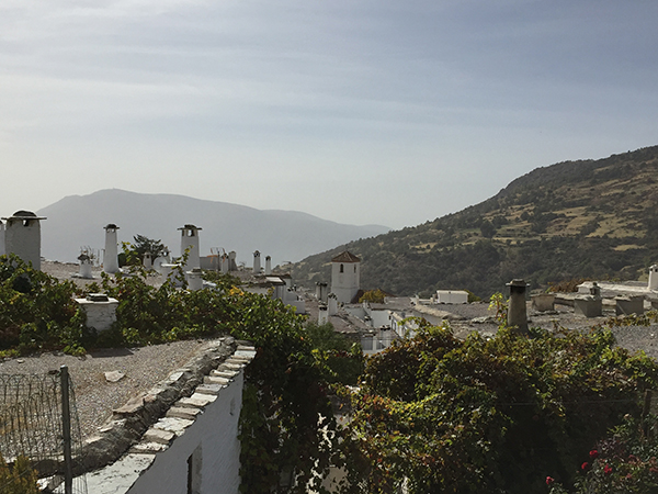The rooftops of Capileira