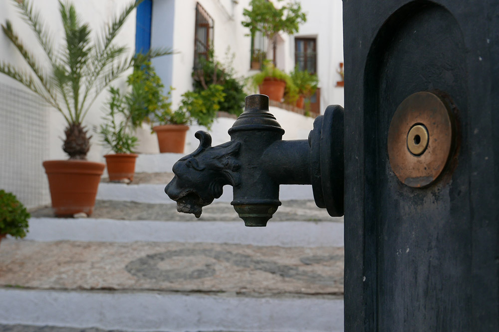 Fountain at Frigiliana